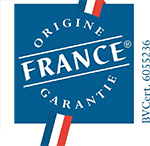 Label ORIGIN FRANCE GUARANTEED